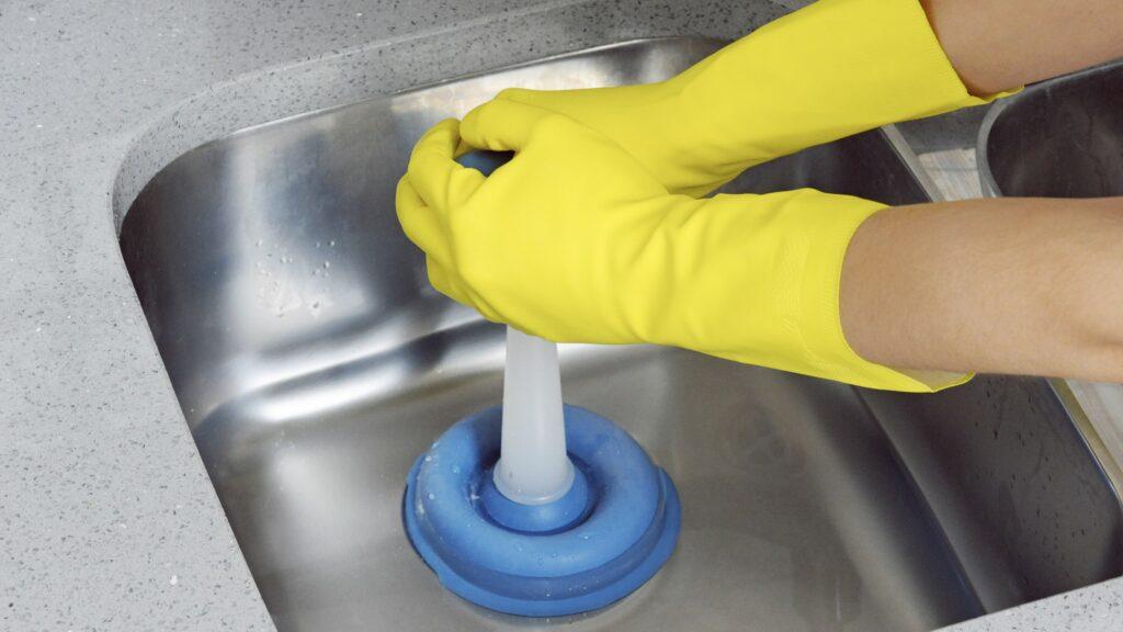 Kitchen sink wont drain